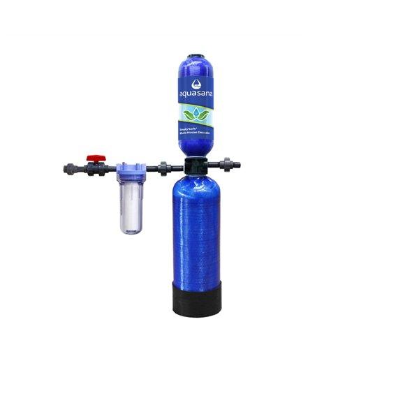Adoucisseur/détartreur d'eau sans sel Aquasana, 6 ans
