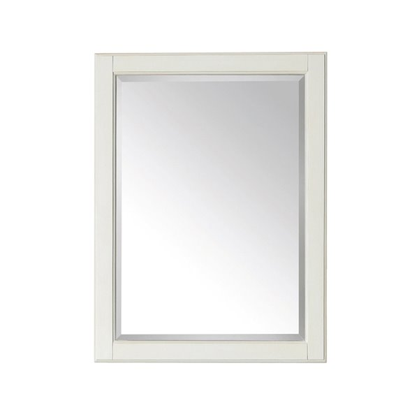 Avanity Hamilton 24-in White Bathroom Mirror