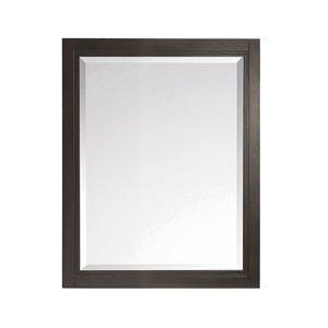 """Miroir salle de bain Hepburn de Avanity , 24"""", chocolat"""
