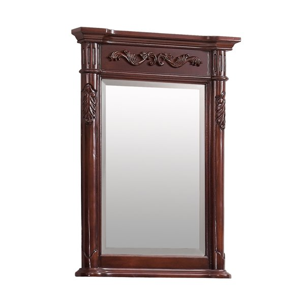 Avanity Provence 24-in Cherry Bathroom Mirror