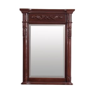 Avanity Provence 24-in Cherry Bathroom Mirror