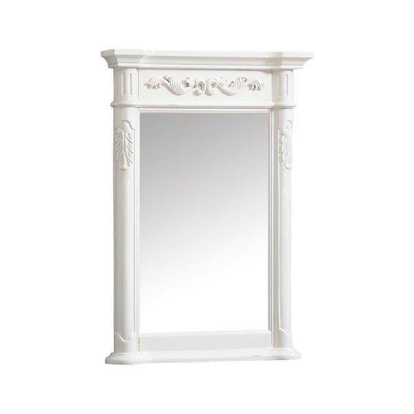 Avanity Provence 24-in White Bathroom Mirror