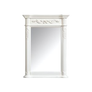 Avanity Provence 24-in White Bathroom Mirror