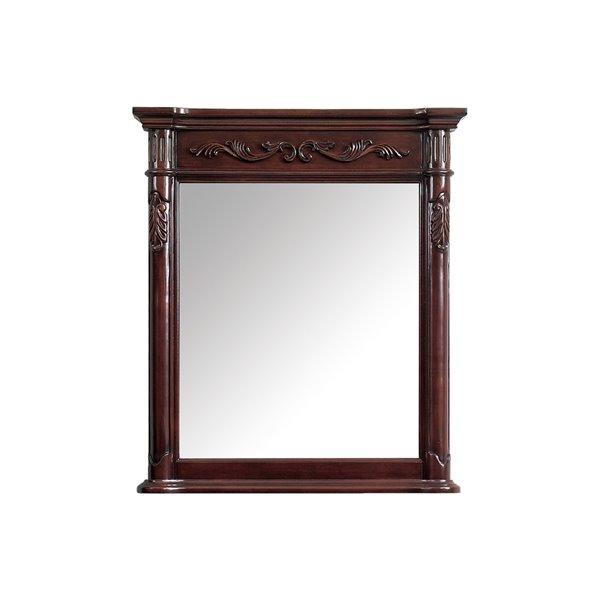 """Miroir pour salle de bain Provence de Avanity, 30"""", cerise"""