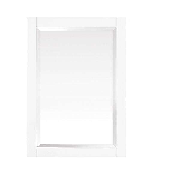 """Miroir salle de bain Azzuri Riley, Avanity, 24"""", blanc"""