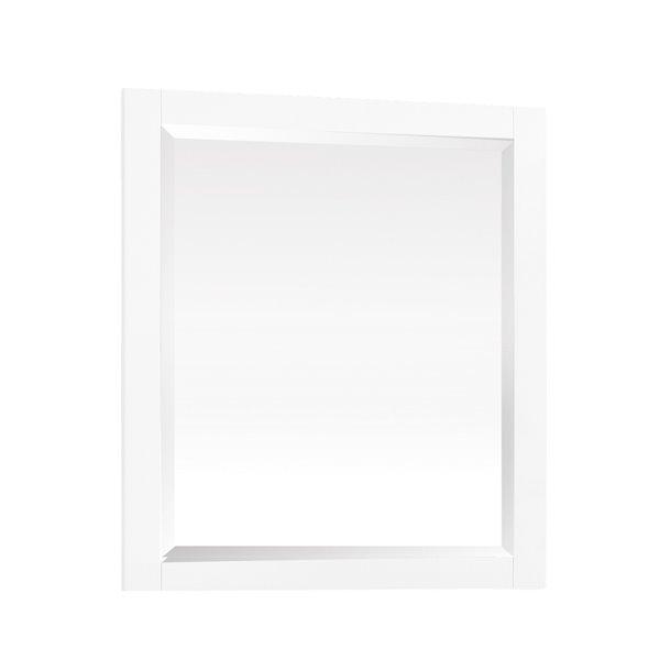 Avanity Azzuri Riley 28-in White Bathroom Mirror