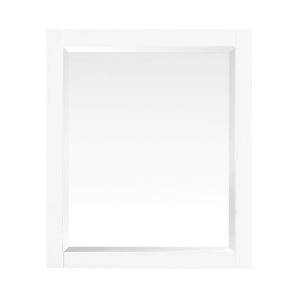 """Miroir salle de bain Azzuri Riley, Avanity, 28"""", blanc"""