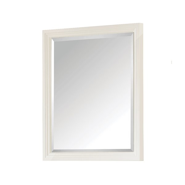 Avanity Thompson 24-in White Bathroom Mirror