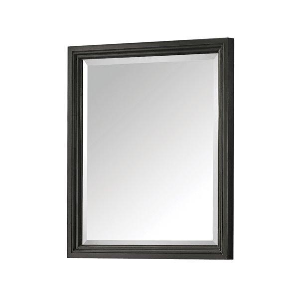 Avanity Thompson Charcoal Bathroom Mirror 28-in