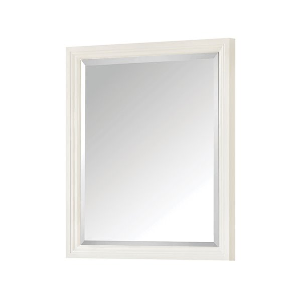Avanity Thompson 28-in White Bathroom Mirror