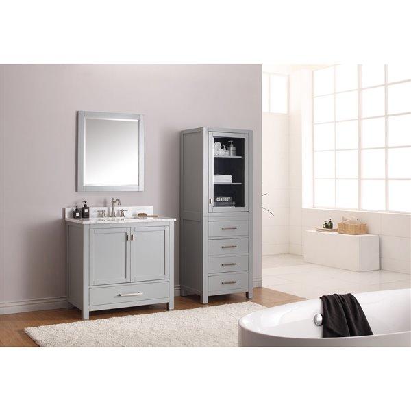 Avanity Brooks/Modero/Tribeca 24-in Grey Cabinet