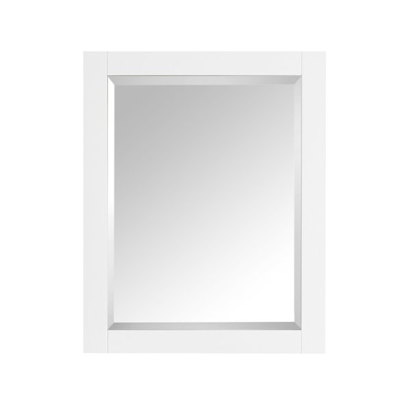 Avanity Brooks/Modero/Tribeca 28-in White Mirror