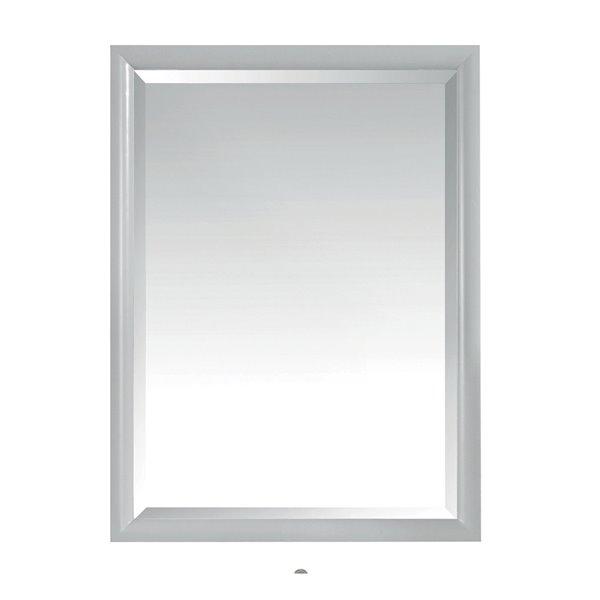 """Miroir pour salle de bain Emma, Avanity, 24"""", gris"""