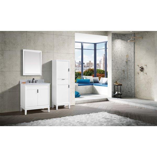 Avanity Emma 24-in White Bathroom Mirror
