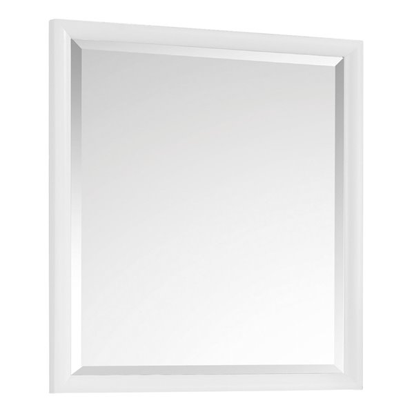 Avanity Emma 28-in White Bathroom Mirror