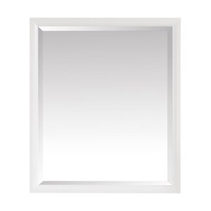 Avanity Emma 28-in White Bathroom Mirror