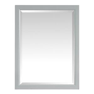 Avanity Emma 22-in Grey Bathroom Mirror Cabinet