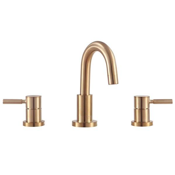 Avanity Positano 8-in Gold Bathroom Faucet