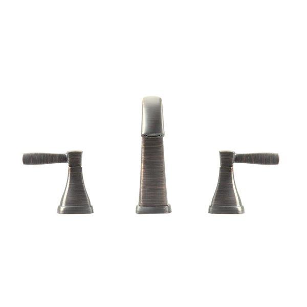 Avanity Clarice Brushed Nickel 8-in Bathroom Faucet