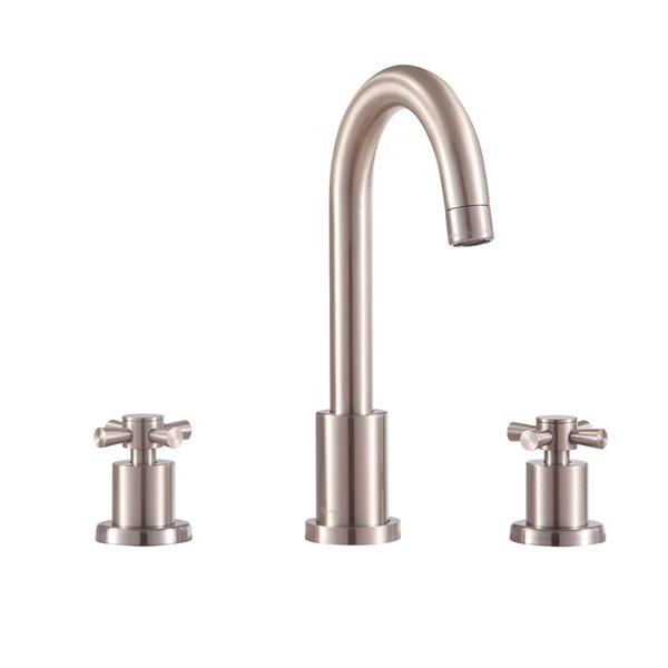 Avanity Messina 8-in Brushed Nickel Bathroom Faucet