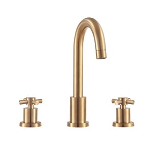 Avanity Messina 8-in gold Bathroom Faucet