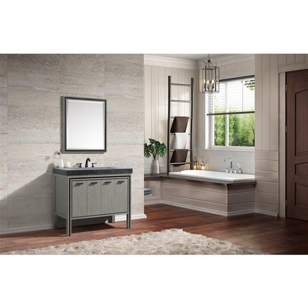 Avanity Dexter 43-in Rustic Gray with Sink Vanity