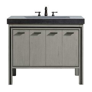 Dexter 43-in Rustic Gray with Sink Vanity