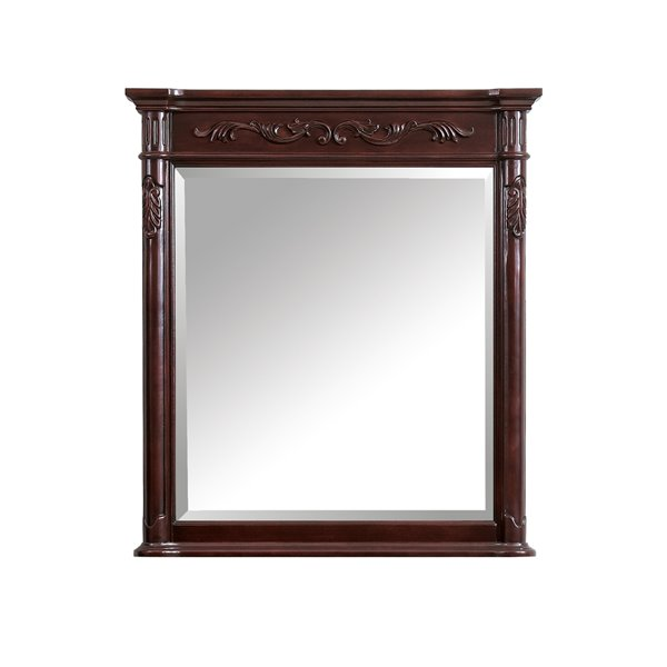 Avanity Provence 36-in Cherry Bathroom Mirror