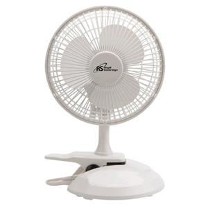 Royal Sovereign 6-in White Clip-On Table Fan