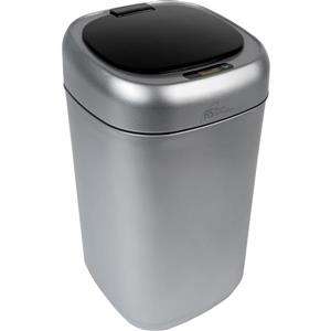 Royal Sovereign Silver 9L Motion Sensor Waste Basket