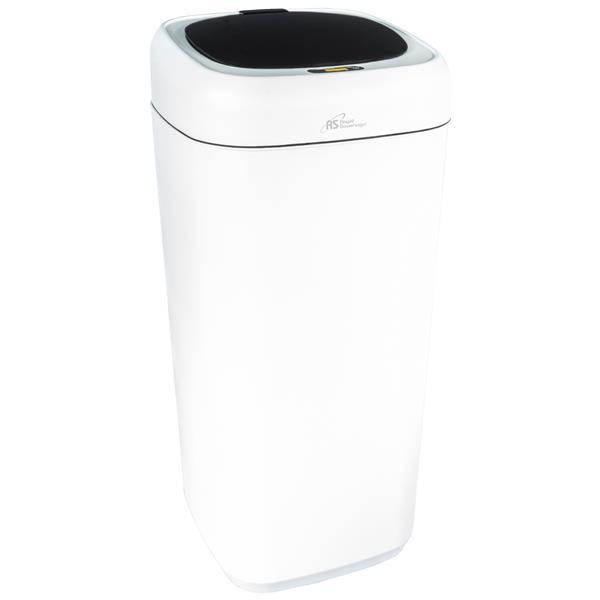 Royal Sovereign White 35L Motion Sensor Waste Basket