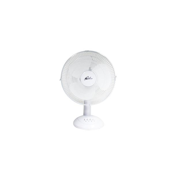 Royal Sovereign 12-in White Clip-On Table Fan
