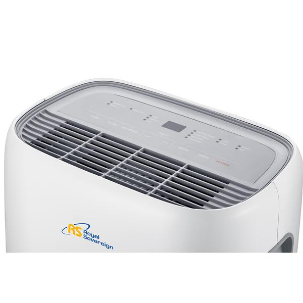 Royal Sovereign 33.1L White Dehumidifier with Auto-Pump