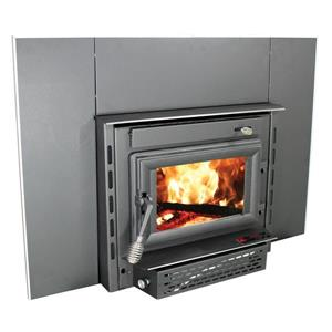 US Stove Company 21.75-in x 26.30-in 1800 sq ft Colonial Wood Stove Insert