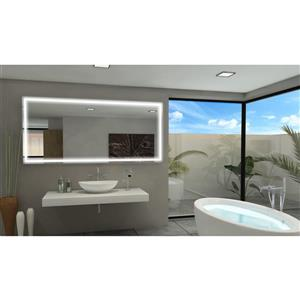 Mirror with LED Lighting - 85