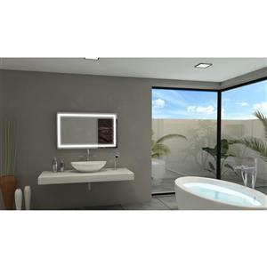 Mirror with LED Lighting - 40