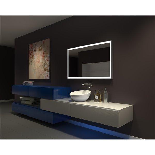 Paris Mirror 48-in x 28-in 3000K 24V LED Lighting Mirror