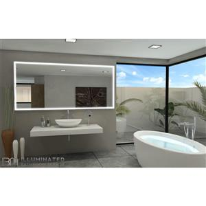 Mirror with LED Lighting - 100