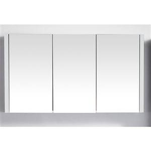 GEF Selena Medicine Cabinet, 46-in White