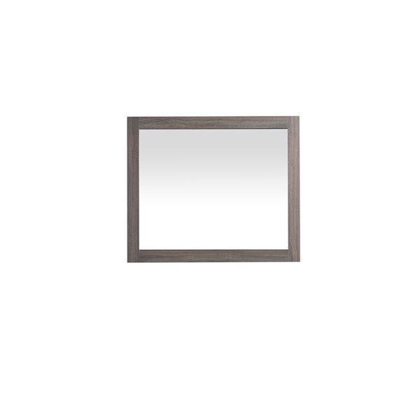 Golden Elite 36-in Grey Bathroom Mirror
