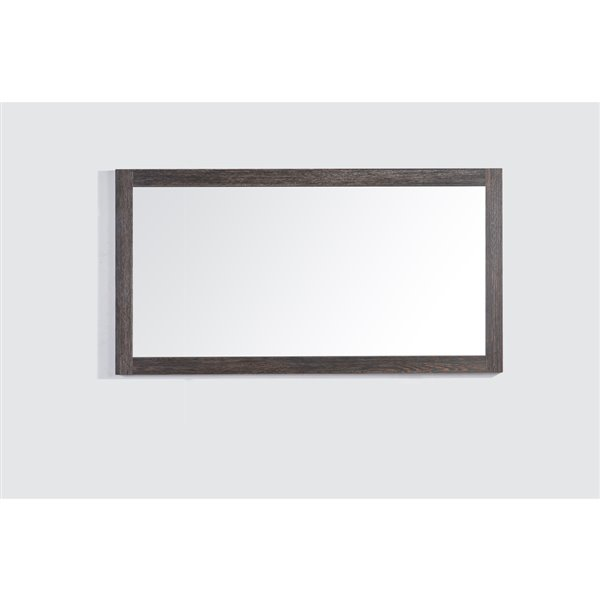 Golden Elite 60-in Dark Oak Bathroom Mirror
