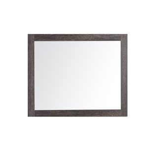 Golden Elite 36-in Dark Oak Bathroom Mirror