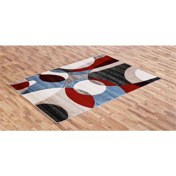 Segma Sofia 8-ft x 11-ft Dori Multi-Colored Area Rug