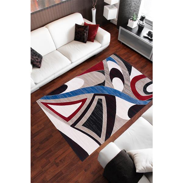 Segma Sofia 8-ft x 11-ft Elisa Multi-Colored Area Rug