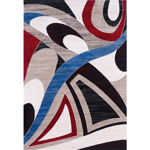 Segma Sofia 5-ft x 8-ft Elisa Multi-Colored Area Rug