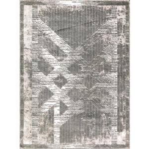 Segma Luminance 5-ft x 8-ft Jenny Grey Area Rug