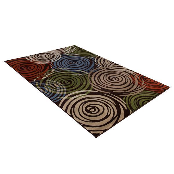 Segma Sandy Area Rug - 8-ft x 11-ft- Multicoloured