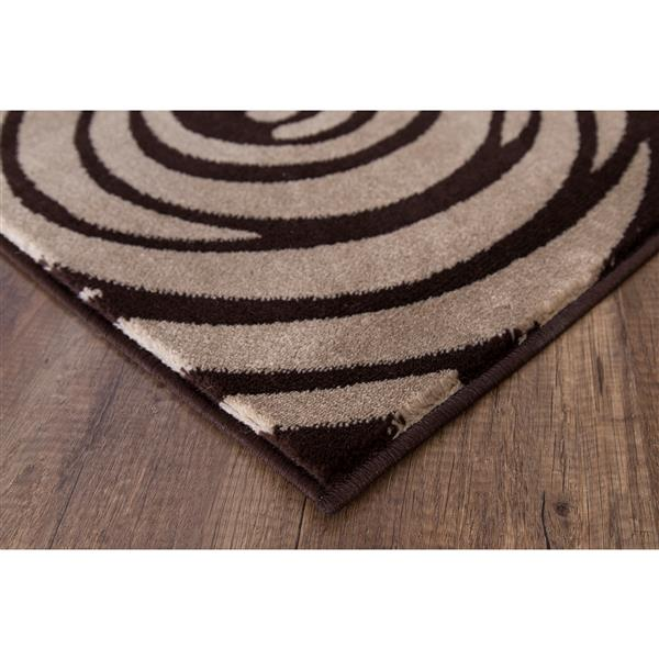 Segma Monaco 5-ft x 8-ft Multicolored Sandy Area Rug
