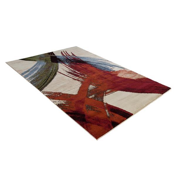 Segma Monaco 8-ft x 11-ft Anna Multi Coloured Area Rug