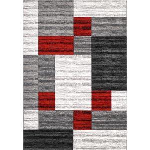 Tapis Nida, 8' x 11', gris